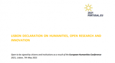 The Lisbon Declaration on Humanities, Open Research and Innovation
