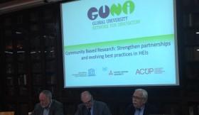 GUNi organizes a debate on the increasing importance of Community University Engagement