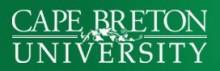 Cape Breton University (CBU)